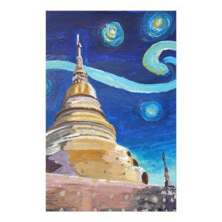Papelaria Noite estrelado em inspirações de Tailândia - de