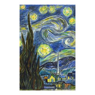 Papelaria Noite estrelado, Van Gogh