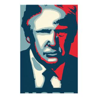 Papelaria nope de Donald Trump