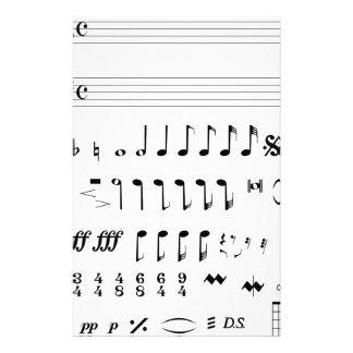 Papelaria Notação musical