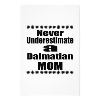 Papelaria Nunca subestime a mamã Dalmatian