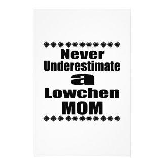 Papelaria Nunca subestime a mamã de Lowchen