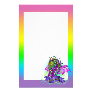 """Papelaria O arco-íris de """"Sonya"""" acredita artigos de"""