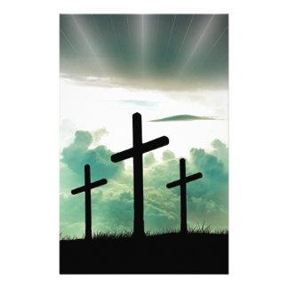 Papelaria O deus transversal Jesus da fé do cristo nubla-se