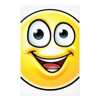 Papelaria O Emoticon manuseia acima do ícone