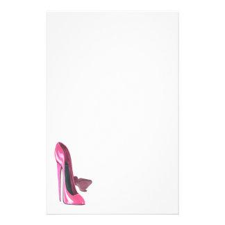 Papelaria O estilete cor-de-rosa calça a arte
