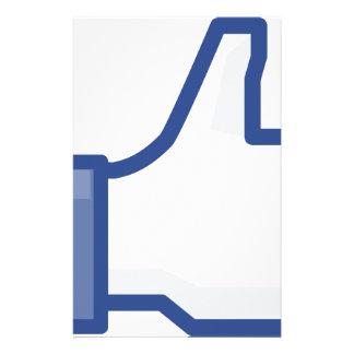 Papelaria o facebook GOSTA de me de manusear acima!