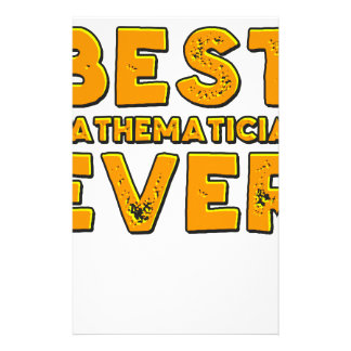 Papelaria O melhor matemático nunca