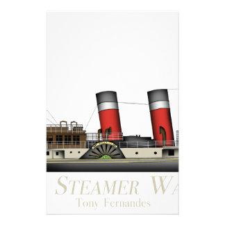 Papelaria O navio a vapor de pá Waverley por Tony Fernandes