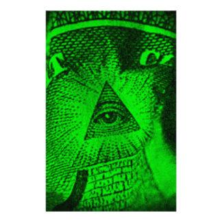 Papelaria O olho de Illuminati