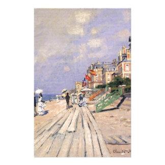 Papelaria O passeio à beira mar em Trouville Claude Monet