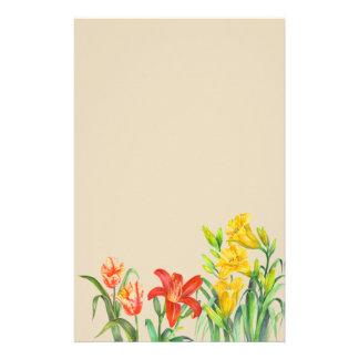 Papelaria O primavera feito sob encomenda floresce a arte