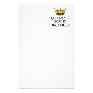 Papelaria O Queens é nascido em dezembro