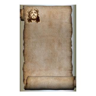 Papelaria O rolo do Jesus Cristo, coroa de espinhos
