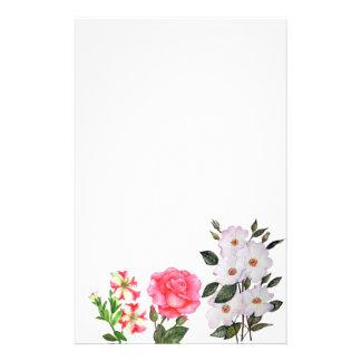 Papelaria O rosa feito sob encomenda floresce a arte floral