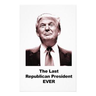 Papelaria O último presidente republicano Nunca