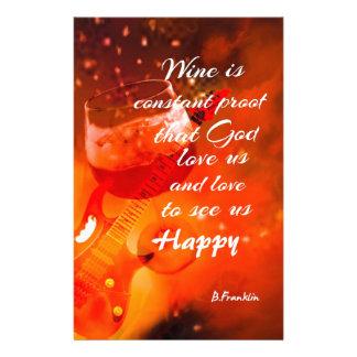 Papelaria O vinho faz-nos felizes