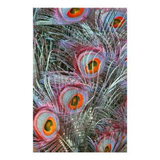 Papelaria Olhos do pavão do disco 70s
