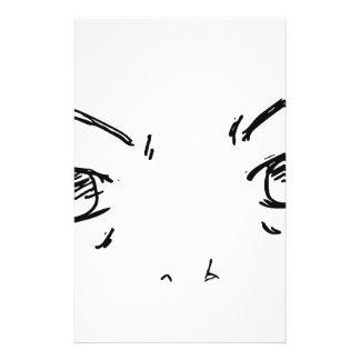Papelaria Olhos irritados 1
