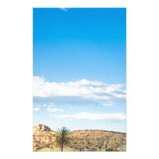 Papelaria Opinião da paisagem à montanha e ao céu