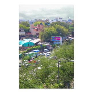 Papelaria Opiniões do tráfego de Nova Deli India das