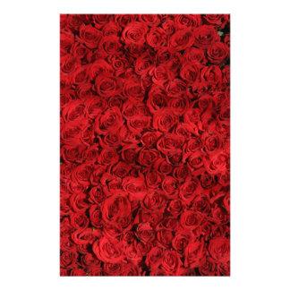 Papelaria Os rosas doces são vermelhos