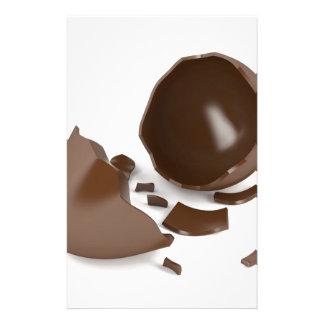 Papelaria Ovo de chocolate quebrado