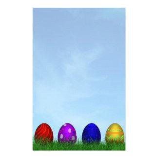 Papelaria Ovos da páscoa coloridos - cabeçalho dos artigos