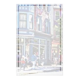 Papelaria Pa de Jim Thorpe - compra da janela