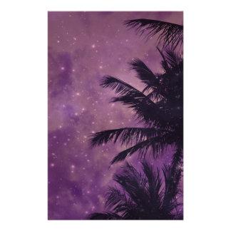 Papelaria Palma roxa do céu