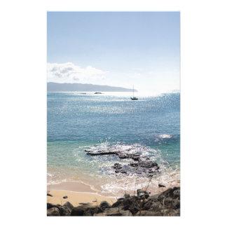 Papelaria panorama da baía do waimea