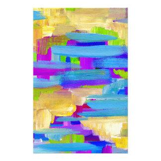 Papelaria Pântano abstrato