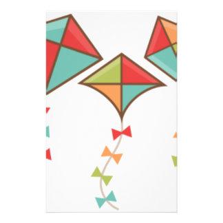 Papelaria Papagaios coloridos
