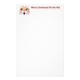 Papelaria Papai Noel cheirado vermelho