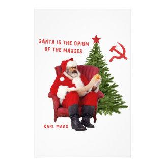 Papelaria Papai noel de Karl Marx