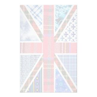 Papelaria Papel britânico da bandeira dos padrões do Tartan