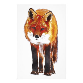 Papelaria papel de carta da raposa, papel de carta da raposa
