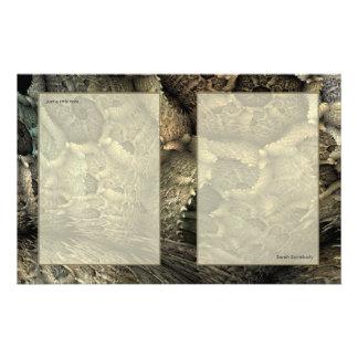 Papelaria Papel para cartas da arte do Fractal da pele do