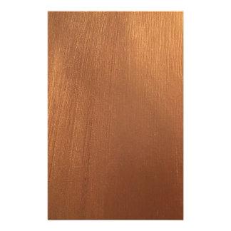 Papelaria Para o amor de metálico - reflexo de cobre