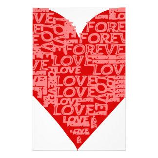Papelaria Para sempre amor