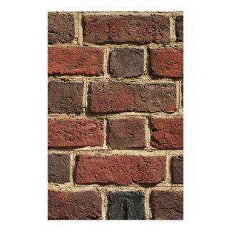 Papelaria Parede de tijolo