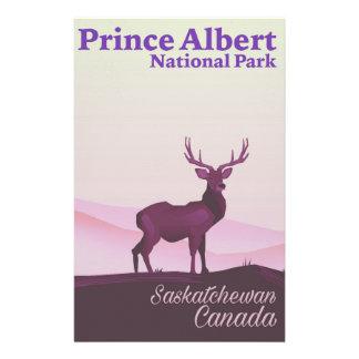 Papelaria Parque nacional de príncipe Albert, Saskatchewan,
