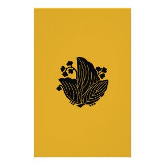 Papelaria paulownia Borboleta-dado forma
