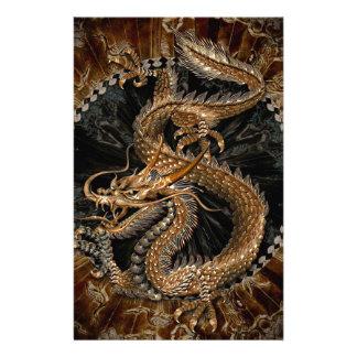 Papelaria Pentagram do dragão