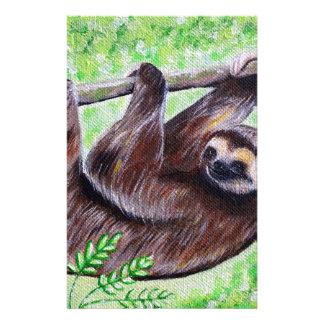 Papelaria Pintura da preguiça do smiley
