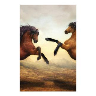 Papelaria Pintura do cavalo