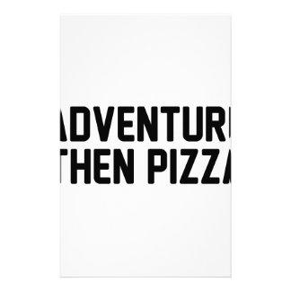 Papelaria Pizza da aventura então