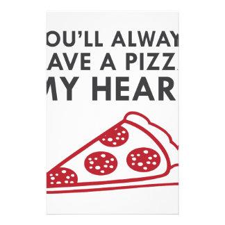 Papelaria Pizza meu coração
