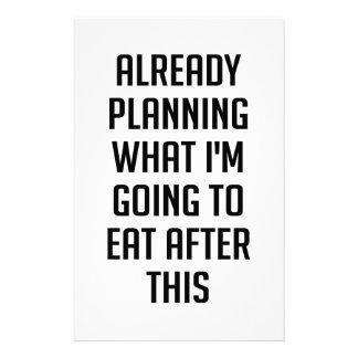 Papelaria Planeando que comer