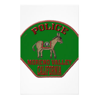 Papelaria Polícia de Moreno Valley